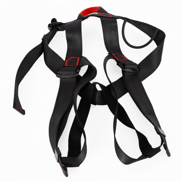 Safety Rock Tree Climbing Rappelling Harness Seat Sitting Bust BeltHalf Body