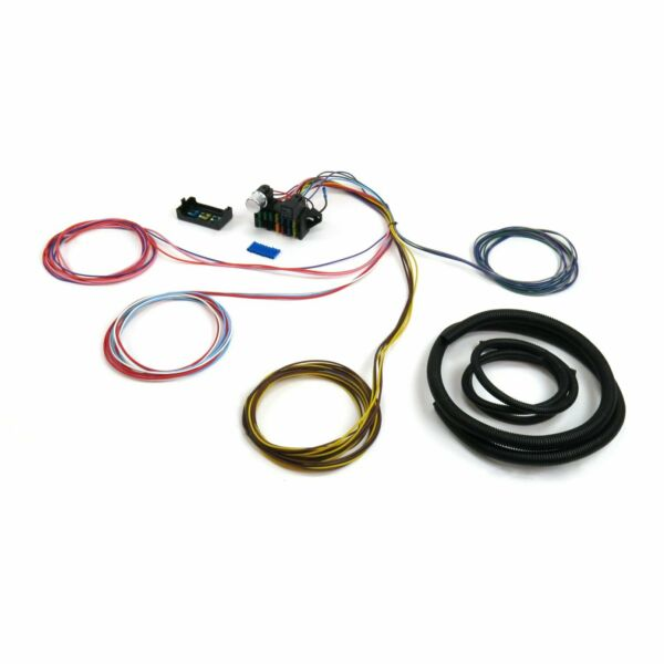 Wire Harness Fuse Block Upgrade Kit for 1928-48 Ford Stranded Insulation Tefz Ja