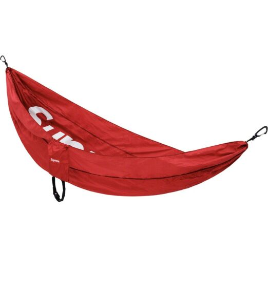 Supreme SS19 Eno Hammock 25th Anniversary Red *ORDER CONFIRMED* $299.00