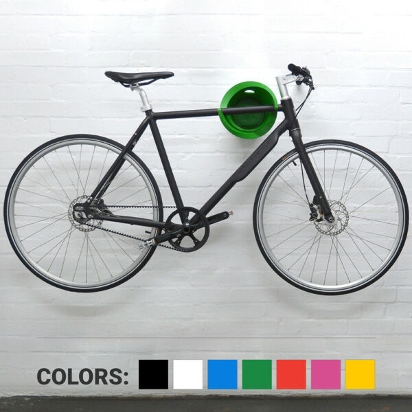 CYCLOC Solo Bicycle Wall Mount Elegant Standard Cycle Storage Rack for Bicycle $84.96