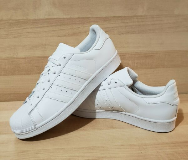Womens ADIDAS Superstar Triple White es 11 Athletic Shoes S85139 Claasic Retro