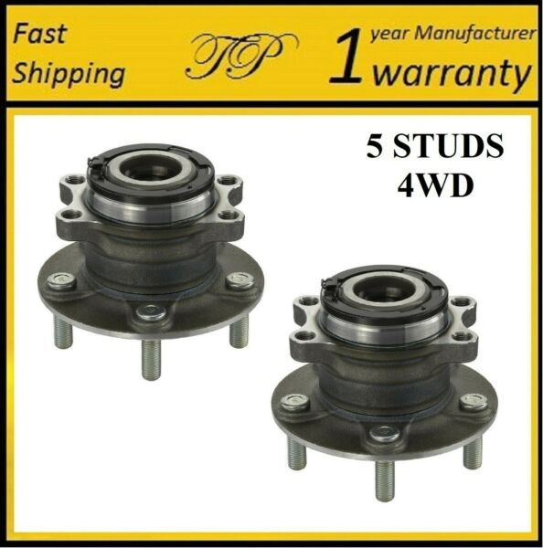 REAR Wheel Hub Bearing Assembly For MITSUBISHI OUTLANDER SPORT 4WD 13 17 PAIR $96.11