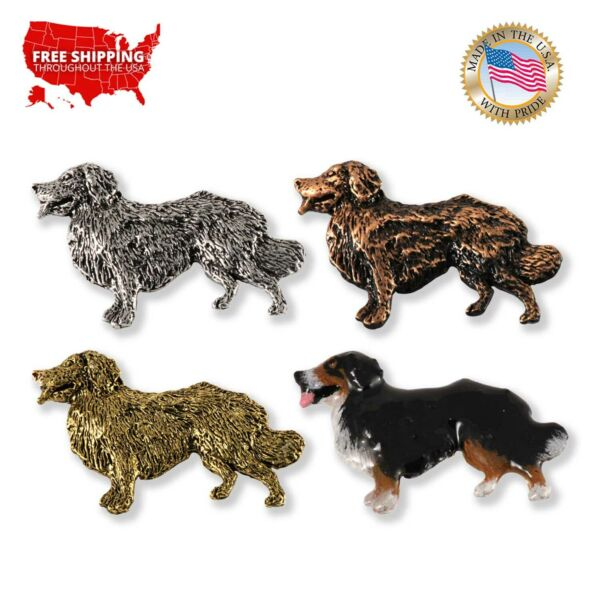 Creative Pewter Designs Bernese Mountain Dog Lapel Pin or Magnet D324F