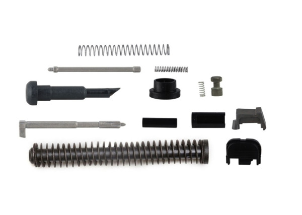 9mm Economy Upper Parts Kit with Guide Rod fits Glock 17 Polymer80 PF940V2 -