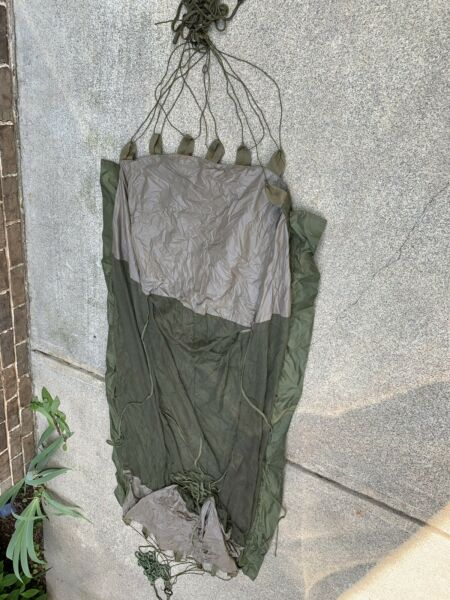 Jungle Hammock Vietnam 1963 With Mosquito Net Built In Sf Issue With Ropes Ques $150.00