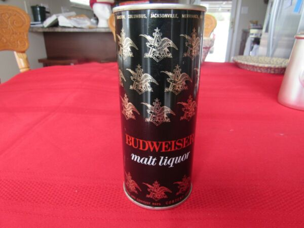 Vintage Old Budweiser Malt Liquor Beer Can Bank 16 Ounce