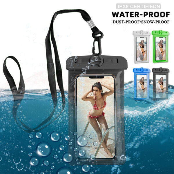 Waterproof Underwater Swimming Dry Bag Case Cover For iPhoneSamsungCell Phone