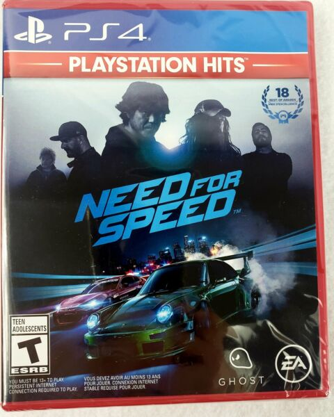 Need for Speed - Playstation Hits PS4 (Sony PlayStation 4) Brand New