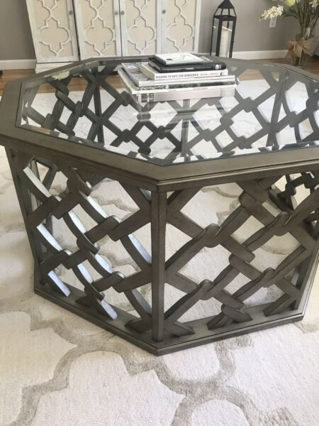 Hooker Coffee Table And End Table