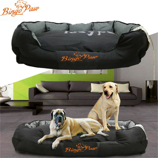 XXL Extra Large Jumbo Orthopedic Pet Dog Bed Dog Kennel Basket Pillow Waterproof $79.95