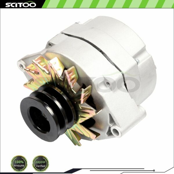 New Alternator For Tractor amp; Chevy 10SI 1 Wire One Wire with 2 Groove Pulley $65.00