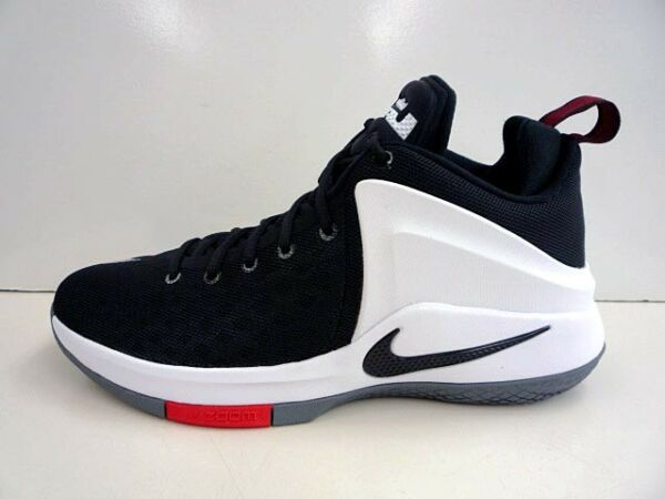 Nike Zoom Witness Lebron Sneakers New, Black White Red 852439-003 9.5 12