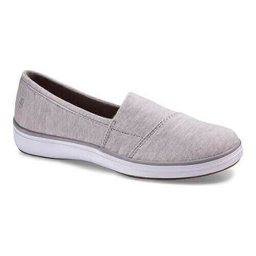 Grasshoppers Women#x27;s Siesta Casual Slip On Comfort Sneakers Light Grey $21.99