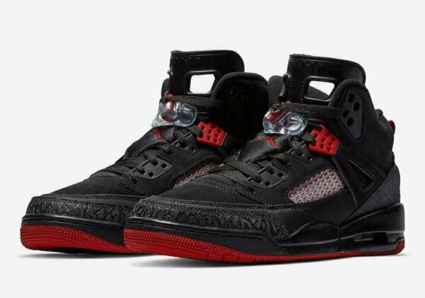 Nike Air Jordan Spizike Men's Basketball Shoes Black Gym Red 315371 006