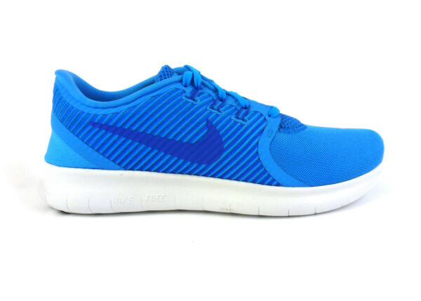 Nike men's Free RN Commuter running shoes sneakers Blue Glow Cobalt size 10