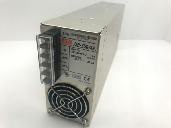 Mean Well 24V 750W 31.3A DC Power Supply Enclosed SP-750-24