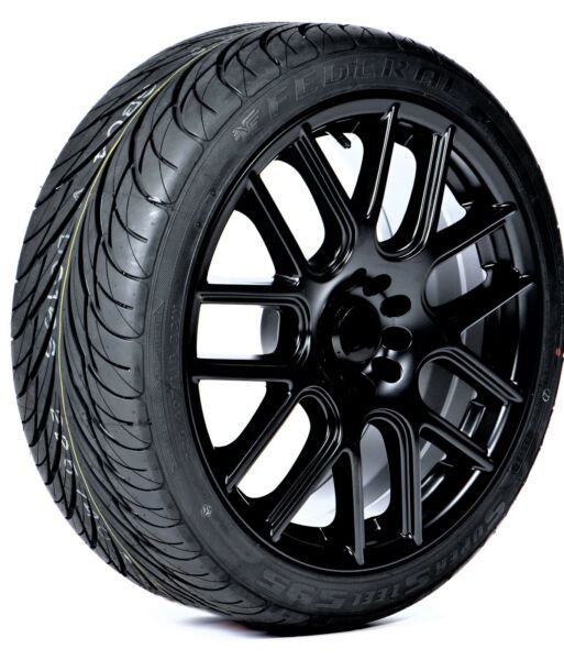 2 New Federal SS595 Performance tires 265 35R18 93W