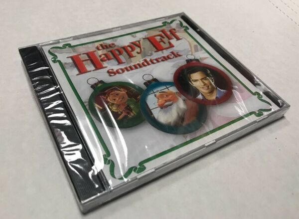 The Happy Elf Soundtrack CD 2005 Harry Connick Jr Christmas Classic