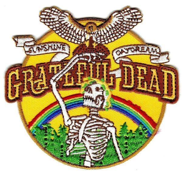 GRATEFUL DEAD - SUNSHINE  DAYDREAM - IRON or SEW-ON PATCH