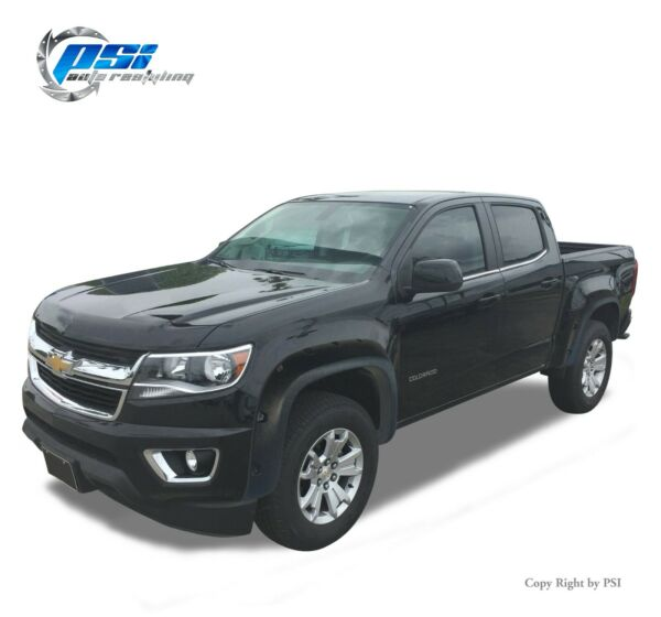 Pocket Bolt Textured Fender Flares Fits Chevrolet Colorado 15-19 ;5'1