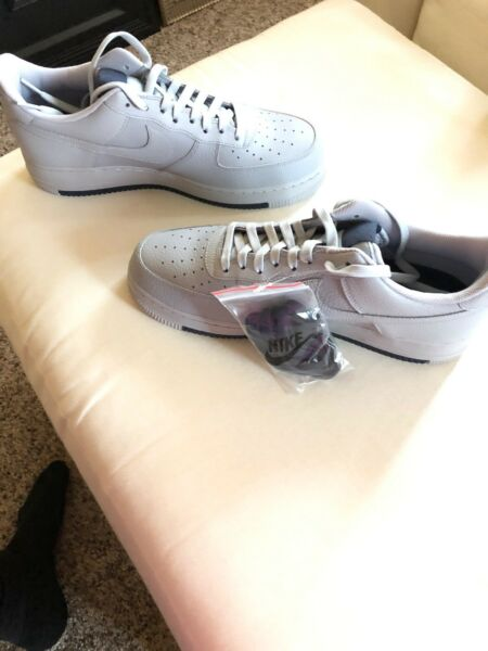 Nike Air Force One 1 '07 Wolf Grey Shoes AO2409-002 AF1 Size 12