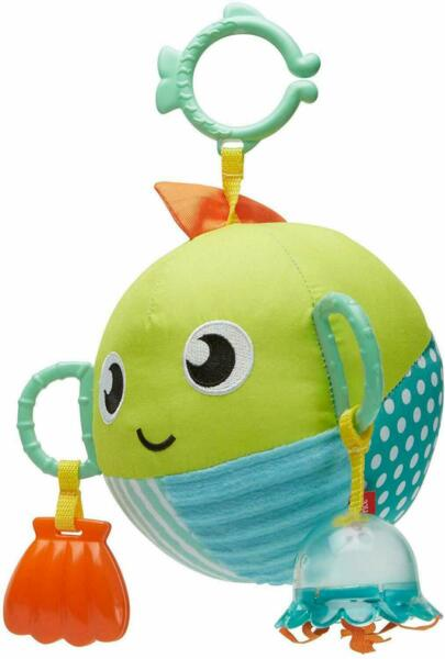 NEW SENSORY FUN FISH BABY TOY STROLLER TOY $19.99