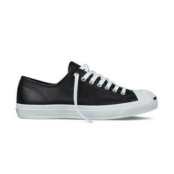 Converse Jack Purcell JP Jack Leather Ox Black White Men Sizes 1S962