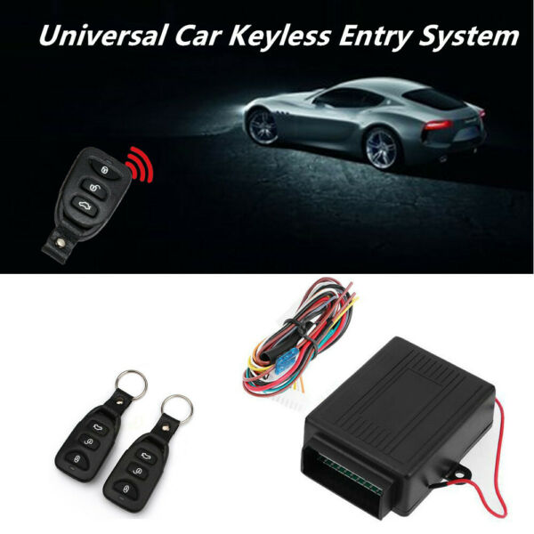 Car Remote Central Kit Door Lock Vehicle Keyless Entry System Control Universal $19.13