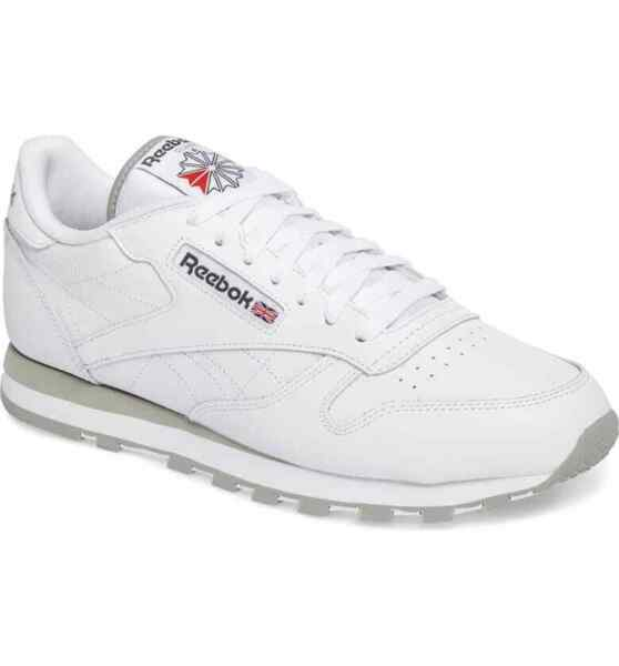 Reebok Men's Classic Leather Shoes NEW AUTHENTIC White 101