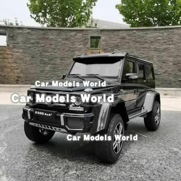Car Model Almost Real Mercedes-Benz G-Class 4x4 (Black) 1:18 + SMALL GIFT!!!