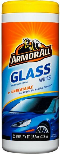 Armor All Glass Wipes 25 ea Pack of 2 $12.01