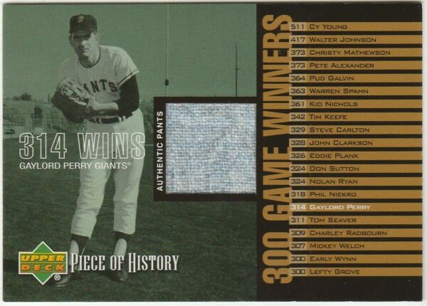 Gaylord and Jim Perry 2 cd lot wjsys  HOF