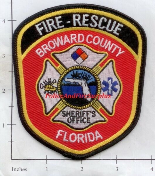 Florida - Broward County FL Fire Dept Patch   Fire Rescue