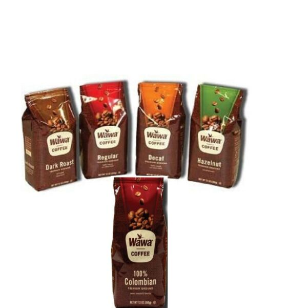 Wawa Ground Coffee in 12 oz. Bags Choose Your Flavor and Enjoy