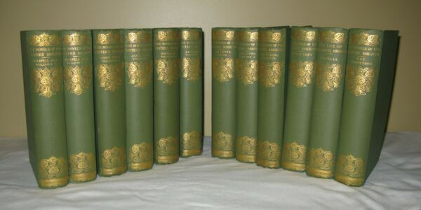 THE NOVELS OF THE BRONTE SISTERS 12 VOL. THORNTON EDITION