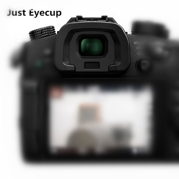 1 Piece Electronic Viewfinder Dust Eyecup Cover Cup for Panasonic DC-GH5 Camera