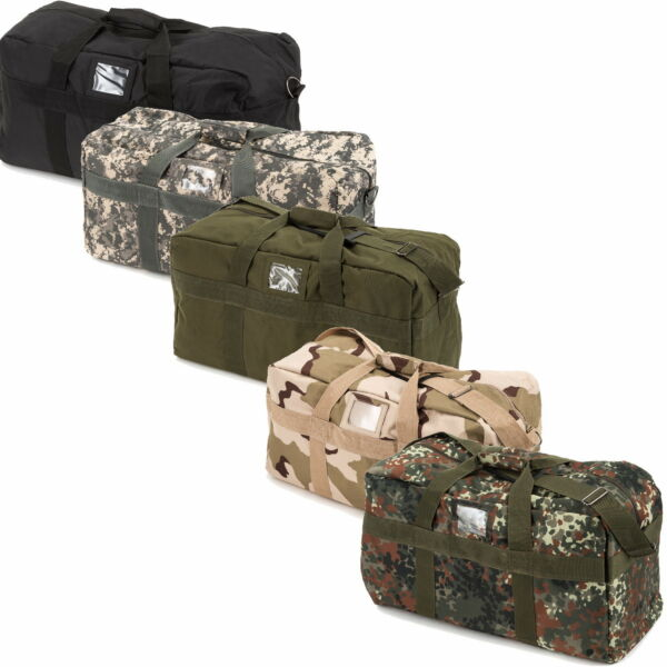 US Army Insert Pocket Sports u.Travel Nylon 57 L in Various Colors