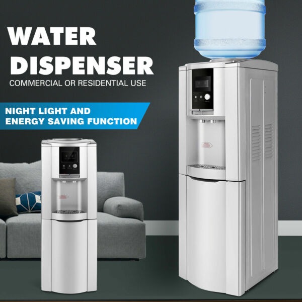 New 5 Gallon Top Loading Hot Cold Water Cooler Dispenser Safety Lock Home Office $109.99