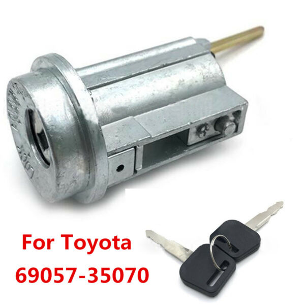 Durable Ignition Switch Lock Core+2 Keys For Toyota 4Runner Tacoma 69057-35070