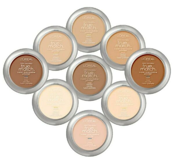 L'Oreal True Match Powder Super Blendable Cool Neutral & Warm - Pick Any Shade!