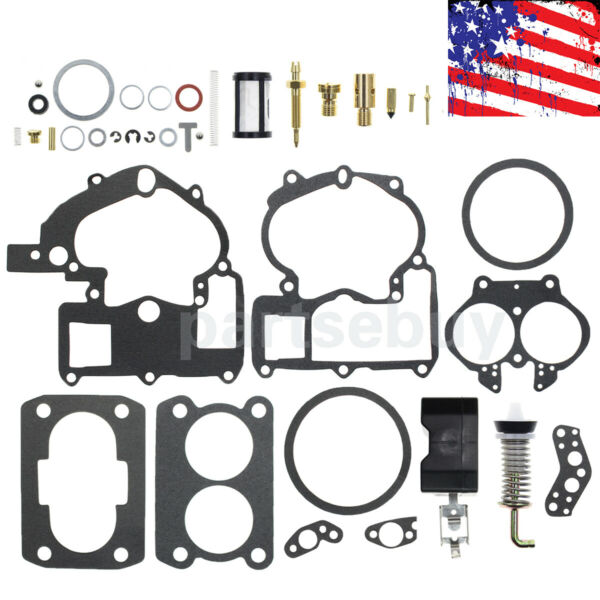 Carburetor Kit For 2 barrel Rochester 2GC 17057132 7055197 17057132 Mecruiser $12.38