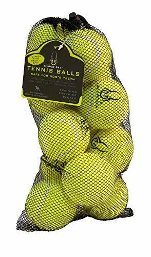Hyper Pet Tennis Balls for Dogs Pet Safe Dog Toys for Exercise and Training Pa