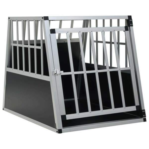 vidaXL Dog Cage Dog Kennels Dog Crates with Single Double Door Multi Sizes $102.99