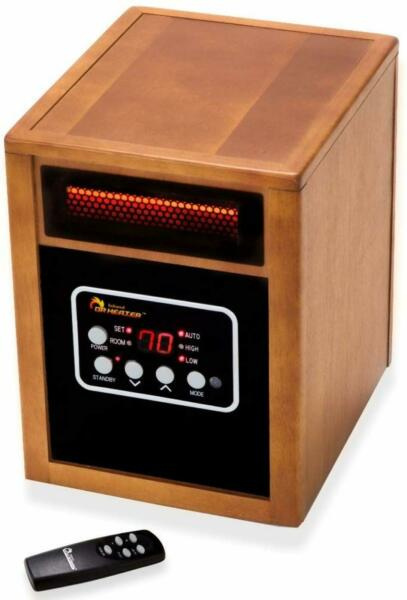 Dr Infrared Heater 1500 Watt Portable Space Heater Energy Saving Dual Heating