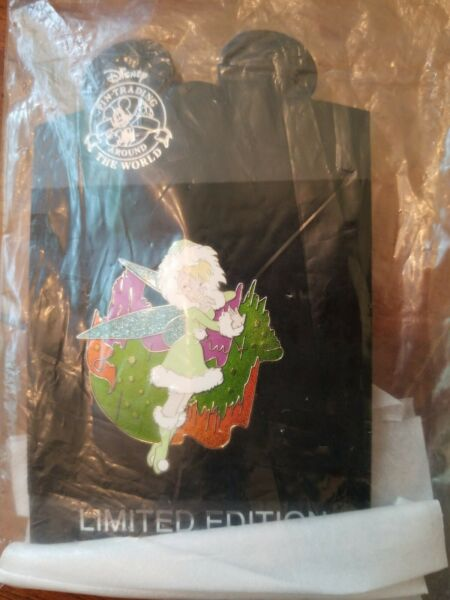 DISNEY STORE SHOPPING DS ARCTIC SET TINKER BELL PIN *MINT ON CARD* $90.00