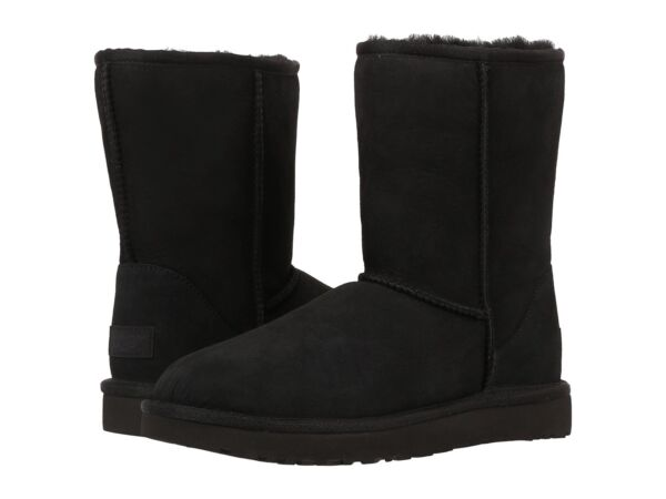 UGG®- WN-Classic Short II -1016223 -WaterStain Repellent-100%Authentic-Black