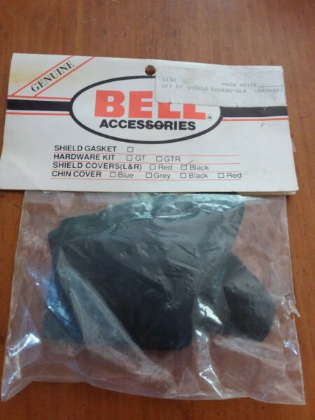 Bell Accessories Black Shield Covers Left amp; Right 5147 NS336A $10.79