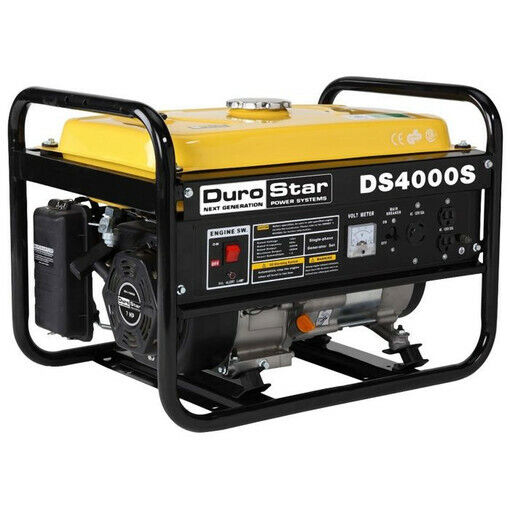 DuroStar DS4000S 4000 Watts Gas Powered Portable Generator Refurbished