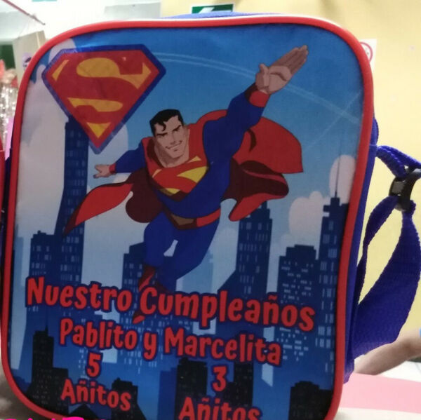 Superman Superhero Party Favors Personalized Bags Backpacks Themed Pack of 50