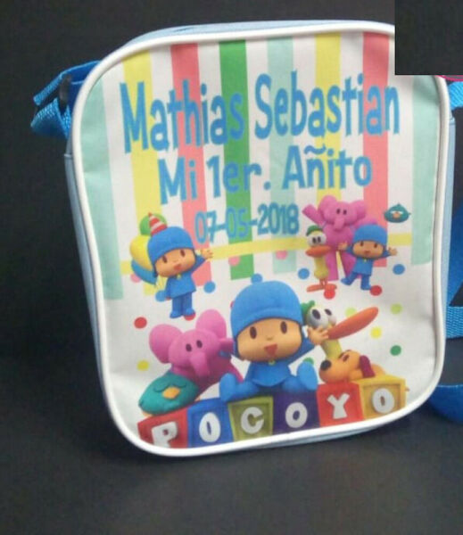 Pocoyo Boy Party Favors Personalized Bags Backpacks Themed Pack of 50